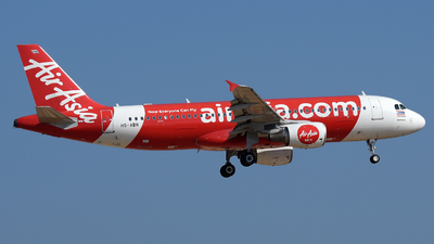 A picture of HSABN - Airbus A320216 - AirAsia - © Vicknesh PS