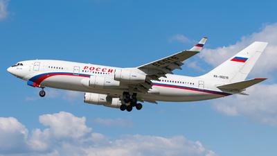 A picture of RA96019 - Ilyushin Il96300 - Rossiya  Special Flight Squadron - © P.C. LKPD Spotter