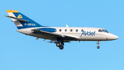 F-GPAA - Dassault Falcon 20C - Aviation Defense Service (AVdef)