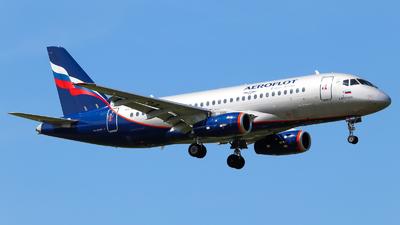 A picture of RA89056 - Sukhoi Superjet 10095B - Aeroflot - © Vitaly Revyakin