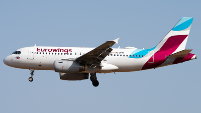 OE-LYW - Airbus A319-132 - Eurowings Europe