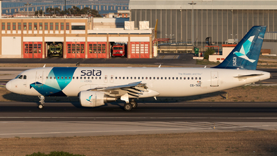 CS-TKK - Airbus A320-214 - SATA International