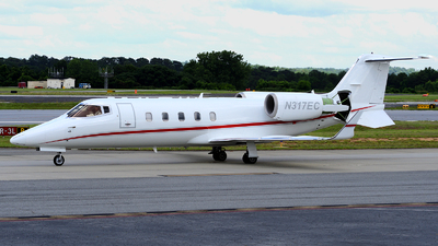 A picture of N317EC - Learjet 60 - [60359] - © Agustin Anaya