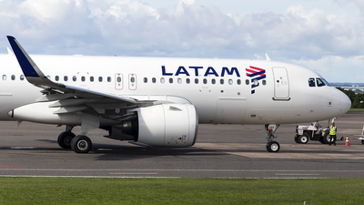 A picture of PRXBE - Airbus A320273N - LATAM Airlines - © Angelo Madson