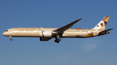 A6-BMA - Boeing 787-10 Dreamliner - Etihad Airways