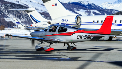 A picture of OKSMI - Cirrus SR22TGTS - [1044] - © Lorenzo Varin - AirTeamImages