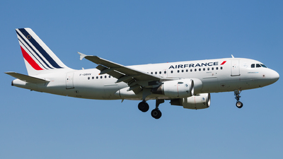 F-GRHV - Airbus A319-111 - Air France