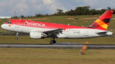 HK-4552 - Airbus A319-115 - Avianca