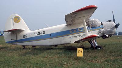 UR-16040 - PZL-Mielec An-2T - Aerotrans