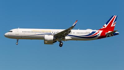 G-XATW - Airbus A321-253NX - United Kingdom - Royal Air Force (Titan Airways)