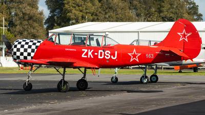 ZK-DSJ - Yakovlev Yak-52 - Private