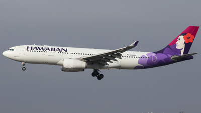 N381HA - Airbus A330-243 - Hawaiian Airlines