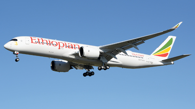 F-WZNF - Airbus A350-941 - Ethiopian Airlines
