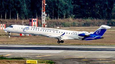 B-3141 - Bombardier CRJ-900LR - China Express Airlines