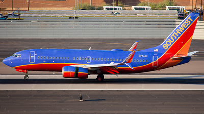 A picture of N7746C - Boeing 7377BD - Southwest Airlines - © Alexander Owen