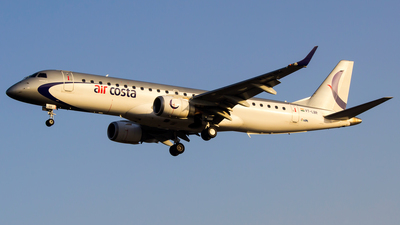 VT-LBR - Embraer 190-100STD - Air Costa