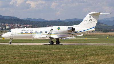 021 - Gulfstream G-IV - Sweden - Air Force
