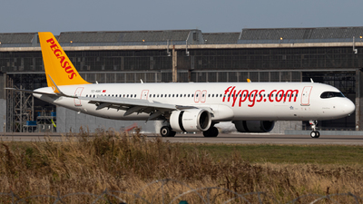 TC-RBE - Airbus A321-251NX - Pegasus Airlines