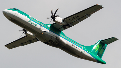 A picture of EIFAW - ATR 72600 - Stobart Air - © Jonathan L - Skies of Pearl
