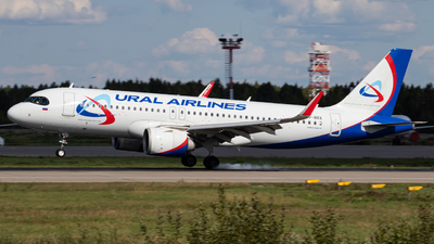 A picture of VPBRX - Airbus A320251N - Ural Airlines - © Alexey Perfilyev