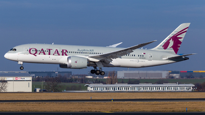 A picture of A7BCX - Boeing 7878 Dreamliner - Qatar Airways - © Simi