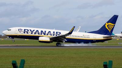 A picture of EIEBV - Boeing 7378AS - Ryanair - © Pj Mackey