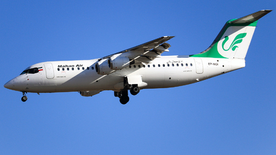 EP-MOI - British Aerospace Avro RJ100 - Mahan Air