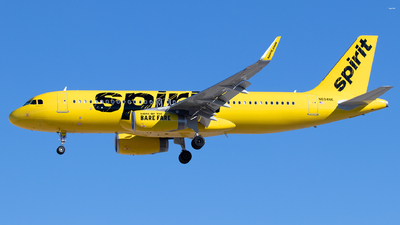 N694NK - Airbus A320-232 - Spirit Airlines