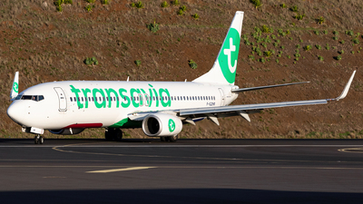 A picture of FGZHR - Boeing 7378K2 - Transavia - © Nelson Sousa