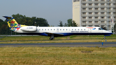 G-EMBH - Embraer ERJ-145EU - British Airways (CityFlyer Express)