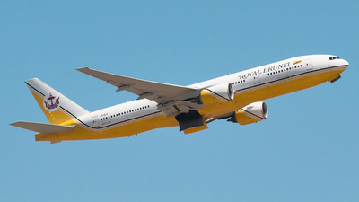 V8-BLD - Boeing 777-212(ER) - Royal Brunei Airlines
