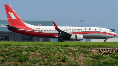 A picture of B5691 - Boeing 73786N - Shanghai Airlines - © D_Y6888