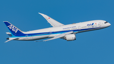 A picture of JA882A - Boeing 7879 Dreamliner - All Nippon Airways - © Tomo-Papa