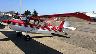 A picture of N8697V - Bellanca 7Gcbc - [83375] - © Jamie West