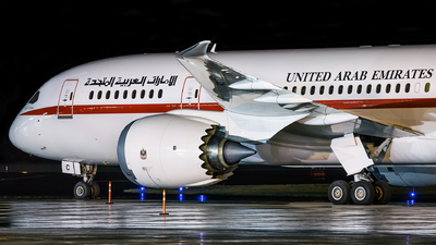 A6-PFC - Boeing 787-8 Dreamliner - United Arab Emirates - Abu Dhabi Amiri Flight