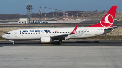 A picture of TCJVI - Boeing 7378F2 - Turkish Airlines - © Furkan Borakazi