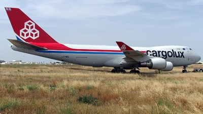 LX-MCL - Boeing 747-4HAERF - Cargolux Airlines International