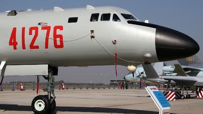 41276 - Xian H-6K - China - Air Force