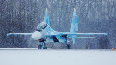 22 - Sukhoi Su-30SM - Russia - Air Force