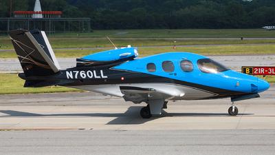 N760LL - Cirrus Vision SF50 G2 Arrivee - Private