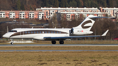 OE-LII - Bombardier BD-700-1A10 Global 6000	 - Private