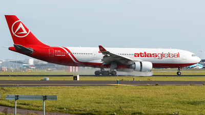 A picture of TCAGL - Airbus A330203 - AtlasGlobal - © Douwe C. van der Zee
