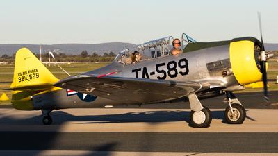 VH-NRO - North American AT-6 Harvard IIA - Private
