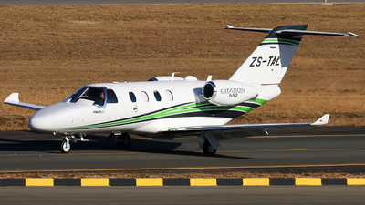 ZS-TAL - Cessna 525 CitationJet M2 - Mack Air