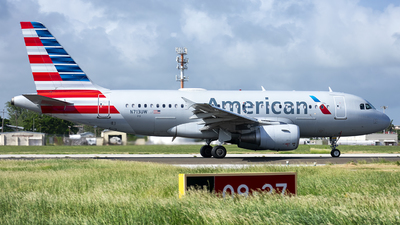 A picture of N713UW - Airbus A319112 - American Airlines - © Che Stuart