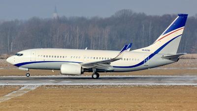 HL8290 - Boeing 737-7GC(BBJ) - Private