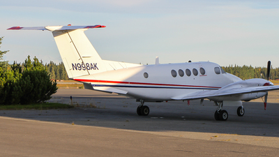 N998AK - Beechcraft A200 Super King Air - Private