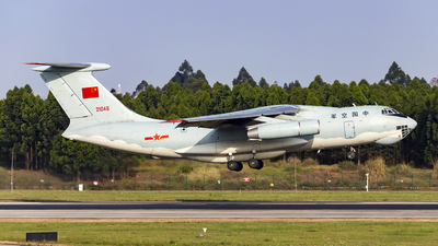 21046 - Ilyushin IL-76MD - China - Air Force