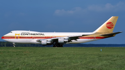 N608PE - Boeing 747-238B - Continental Airlines