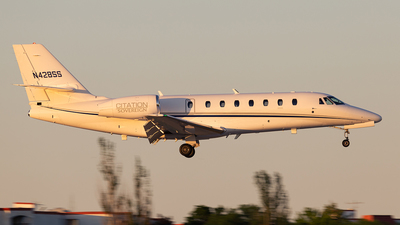 N428SS - Cessna 680 Citation Sovereign - Private